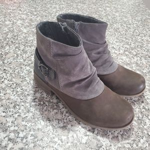 """Earth Origins Leather & Suede """"Paige"""" Bootie"""